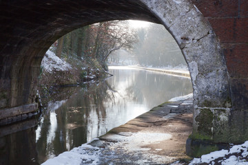 Canal Bridge over the Leeds & Liverpool Canal, Lancashire