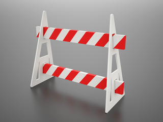 Roadblock barier
