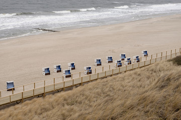 Strandkorbsiedlung