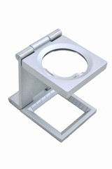 Alloys magnifying glass.