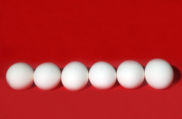 Eggs in Red