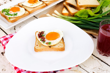 Egg on toast