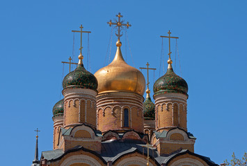 Fototapete - Moscow. The Church of the Icon of the Mother of God The Sign
