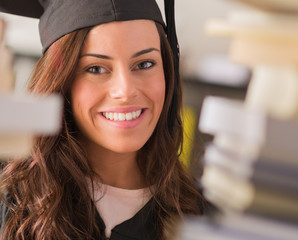 Portrait Of Happy Graduate Woman