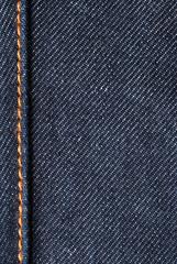 Cotton jeans detail - fabric
