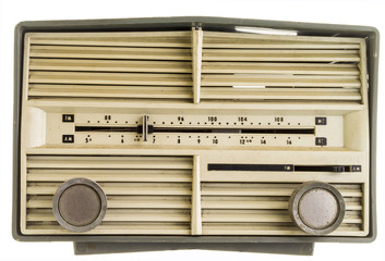 Old AM FM Radio set