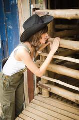 farm lady