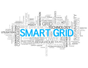 """SMART GRID"" Tag Cloud (technology services strategy management)"