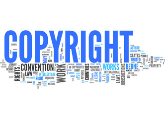 Copyright (english tag cloud)