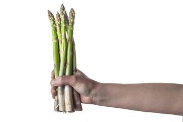 Mazzo di asparagi