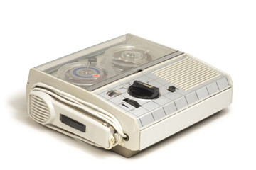 Mini Old Tape Recorder 01
