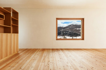 architecture modern design, mountain home, room