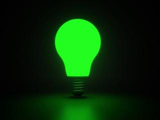 Light bulb shiny