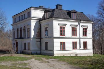 Abandoned mansion in Sweden
