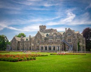 Historic Long Island NY gold coast mansion Hempstead House