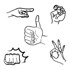 drawing hands illustration