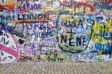 Strassenkunst - Graffiti 3 (Prag)