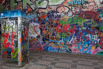 Prague's graffiti
