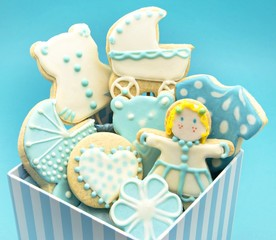 Wall Mural - Galletas baby