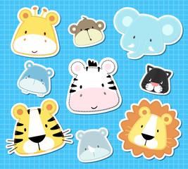 baby animals heads