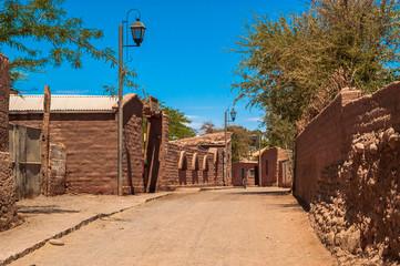 Fototapete - San Pedro de Atacama Village