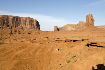 Monument Valley nello Utah negli Stati Uniti d'America