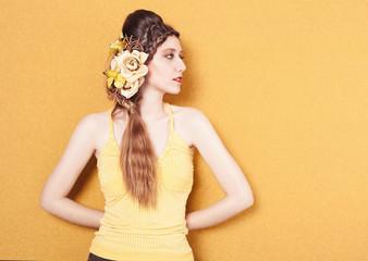 yellow profile