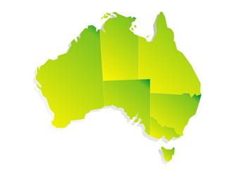 Erdteil - Australien