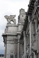 Milano,Stazione Centrale,particolare