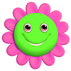 Garden Poster Sweet Monsters 3d cartoon cute flower