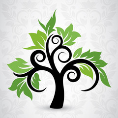 Vector Tree stylized