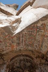 Paintings in Egritas Church, Ihlara Valley (Turkey)