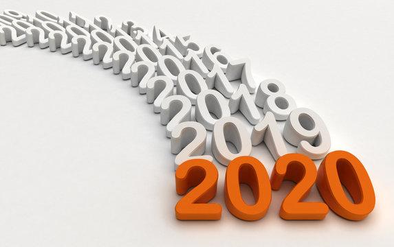 2020 - Rappresentazione anni che passano
