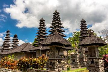 Aluminium Prints Indonesia Detail of Pura Taman Ayun temple, Bali