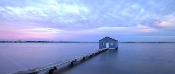 Boat house Matilda Bay