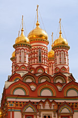 Fototapete - Moscow, Church of St Nicholas the Wonderworker