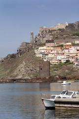Colorful village, Castelsardo, Sardegna