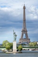 Fotobehang Parijs Tour Eiffel Paris