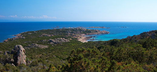 Coastline view, south of France