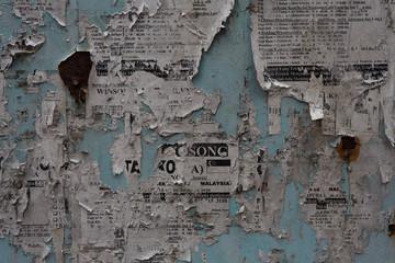 texture newspaper
