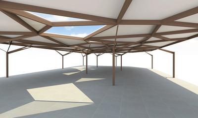 Futuristic Architecture, Organic structure like a trees