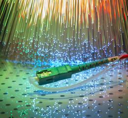 Fiber optics, modern computer communication technology