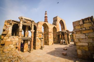 Printed roller blinds Delhi qutub minar