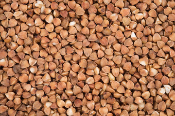 Aluminium Prints Background of buckwheat