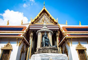 Thai architecture of hermit