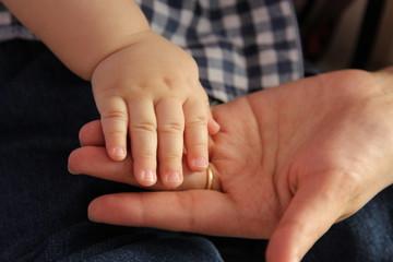Baby boy hand