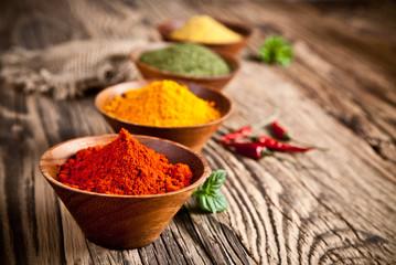 Fotorolgordijn Kruiden Spices