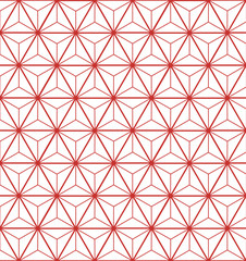 Pattern line with star