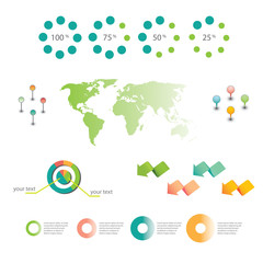 Vector business graphics & icons