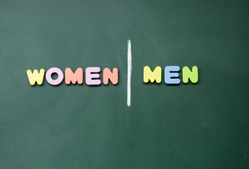 women and men sign